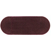 """WaterHog Eco Grand Elite 3/8"""" Thick Two Ends Entrance Mat, Maroon 4' x 8'"""