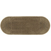 "WaterHog Eco Grand Elite 3/8"" Thick Two Ends Entrance Mat, Khaki 3' x 7'1"""