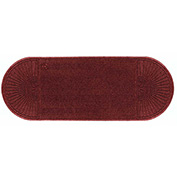 "WaterHog Eco Grand Elite 3/8"" Thick Two Ends Entrance Mat, Regal Red 3' x 7'1"""