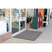 "WaterHog Diamondcord 3/8"" Thick Entrance Mat, Brown Cord 6' x 6'"