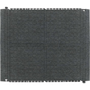 "Hog Heaven Fashion II Linkable Mats Middle Granite 36"" x 43-3/4"""