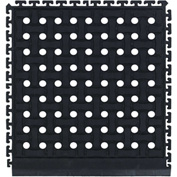 "Comfort Flow HD Modular Anti-Fatigue Tile 3/4"" Thick, Side Black 18"" x 19-1/8"""