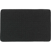 "Get Fit Stand Up Anti-Fatigue Mat 5/8"" Thick, Coal Black 34"" x 47"""