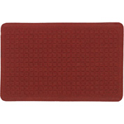 "Get Fit Stand Up Anti-Fatigue Mat 5/8"" Thick, Red 34"" x 47"""