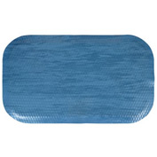 "Hog Heaven Marble Top Mat 5/8"" 2x3 Blue Merle"