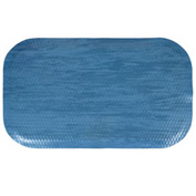 "Hog Heaven Marble Top Mat 7/8"" 2x3 Blue Merle"