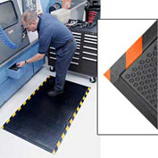 Happy Feet Grip Mat Orange Border 2x3