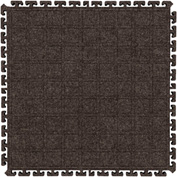 "Hog Heaven Fashion Modular Tile II Side Tile Cocoa Brown 18"" x 21-7/8"""