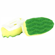 Libman Commercial All Purpose Scrubbing Dish Wand Refills, 2 Pack - 1135 - Pkg Qty 6