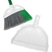 "Libman® Commercial Precision® Angle Broom & 10"" Dustpan 206 - Pkg Qty 4"