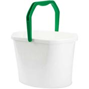 Libman® Commercial Oval Utility Bucket - 13 Quart Bucket - White, 255 - Pkg Qty 6