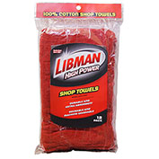 Libman Commercial Industrial Grade Utility Towels, 12 Pack - 591 - Pkg Qty 6