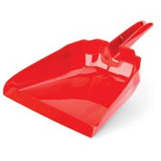 "Libman Commercial 13"" Dust Pan - Red - Pkg Qty 6"