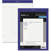 """TOPS® Idea Collective Legal Pad 77103, 8-1/2"""" x 11-3/4"""", White, 50 Sheets/Pad, 1/Pack"""