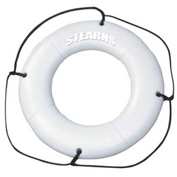 "Stearns® 30"" Ring Buoy, USCG Type IV, White"