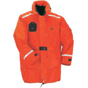 Stearns® Windward™ Flotation Jacket, USCG Type III, Orange, Nylon, S