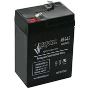 TCPI 20734 Lead Acid Battery 6V 4.5 Ah In-terminals