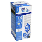 Tcp 80102750 27w Springlight 5000k- Cfl Bulb - Pkg Qty 12