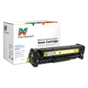 Color Research Replacement HP 304A CC532A Toner Cartridge - Up to 2,800 Pages, Yellow - C18-42248