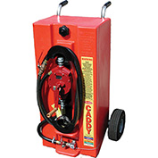 Todd Poly 28-Gallon Gas Caddy w/Industrial Pump, UN/DOT Approved, 932403IP