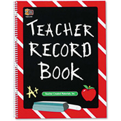 "Teacher Created Resources Record Book 2119, 11"" x 8-1/2"", White, 1 Each"