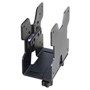Ergotron® 80-107-200 Thin Client Mount CPU Holder, Black