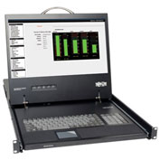 "Tripp Lite 1U Rack-Mount Console with 19"" LCD"
