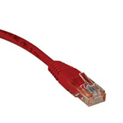 3ft Cat5e 350MHz Red Molded Patch Cable RJ45M/M