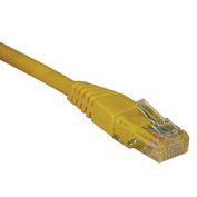 3ft Cat5e 350MHz Yellow Molded Patch Cable RJ45M/M