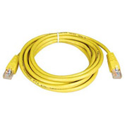 5ft Cat5e 350MHz Yellow Molded Patch Cable RJ45M/M