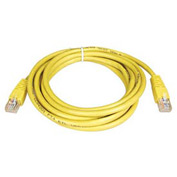 7ft Cat5e 350MHz Yellow Molded Patch Cable RJ45M/M