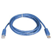 10ft Cat5e 350MHz Blue Molded Patch Cable RJ45M/M
