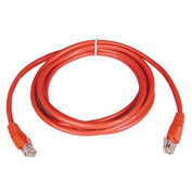 10ft Cat5e 350MHz Red Molded Patch Cable RJ45M/M