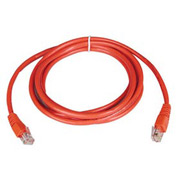 14ft Cat5e 350MHz Red Molded Patch Cable RJ45M/M