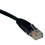 50ft Cat5e 350MHz Black Molded Patch Cable RJ45M/M