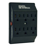 Isobar Surge Protector/Suppressor 6 Outlets Direct Plug-In 750 Joules