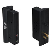 Protect It! Surge Protector/Suppressor 4 Outlets Direct Plug-In 670 Joules Black
