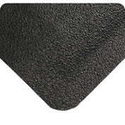 "Wearwell 447 WeldSafe Beveled Heavy Duty Mat 48""X75' Black"
