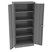 "Tennsco Smart Space Cabinet 6615 02 - Welded 30""W x 15""D x 66""H Medium Gray"