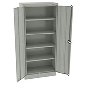 "Tennsco Smart Space Cabinet 6615 53 - Welded 30""W x 15""D x 66""H Light Gray"