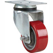 "Fairbanks Light/Medium Duty Swivel Caster 03-3-PO - Polyurethane 3"" Dia. - 290 Lb. Capacity"