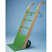 "Fairbanks Bag Truck Handtruck 9217-2SRT - 8"" Mold-On Rubber Wheels - 700 Lb. Capacity"