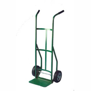 "Fairbanks Handtruck A-1448-10FF - Double Handle - 10"" Puncture Proof Wheels - 800 Lb. Capacity"