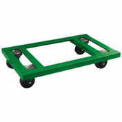 "Fairbanks Angle Iron Dolly AI-2436-4IW - 24"" x 36"" - 4"" Semi-Steel Wheels - 2000 Lb. Capacity"