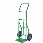 "Fairbanks Handtruck C-118-10FF - Curved Handle - 10"" Puncture Proof Wheels - 800 Lb. Capacity"