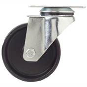 "Fairbanks Swivel Caster E-02-2-PH - Polyolefin 2"" Dia. - 100 Lb. Capacity"