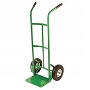 "Fairbanks Handtruck E-48-10FF - Double Handle - 10"" Puncture Proof Wheels - 550 Lb. Capacity"