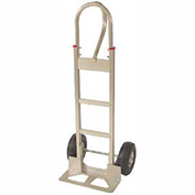 Fairbanks Aluminum Handtruck FBAL14-10FF - Loop Handle - Puncture Proof Wheels - 600 Lb. Capacity