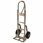 Fairbanks Aluminum Handtruck FBAL14-SC-10FF - Loop with Stair Climbers - Puncture Proof Wheels