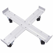 "Fairbanks Heavy-Duty Drum Dolly MDS24-3IW - 3"" Semi-Steel Wheels - 1000 Lb. Capacity"